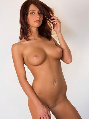 strips down and shows off